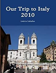 A travel blog book about a trip to Italy