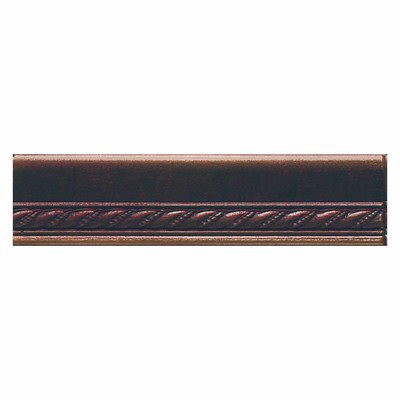 Ion Metals 6'' x 1.5'' Chair Rail Accent Tile Trim in Oil Rubbed Bronze
