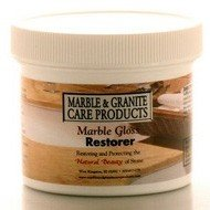 Marble Gloss Restorer SF (Special Formula) - By Marble And Granite Care Products (4 OZ) by Marble And Granite Care Products
