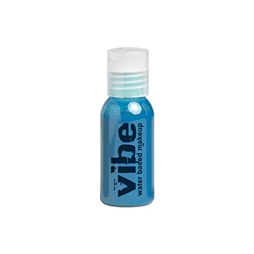 Vibe Face Paint Water Based Airbrush Makeup, Frost Blue 0.5oz