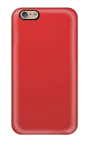High-end Case Cover Protector For Iphone 6(red)(3D PC Soft Case)