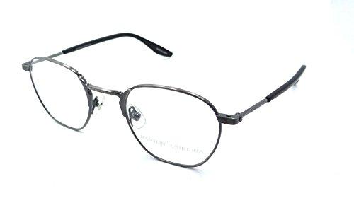 Barton Perreira RX Eyeglasses Frames Ginsberg 46x21 Pewter Made in - Perreira Barton Eyeglasses