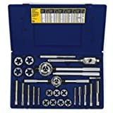 Irwin Industrial Tools 97094 Fractional Tap and Hex Die Set, 25-Piece by Irwin Tools