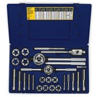 Irwin Industrial Tools 97094 Fractional Tap and Hex Die Set, 25-Piece by Irwin Tools by Irwin Tools
