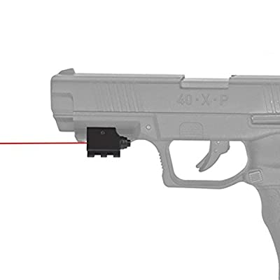 Feyachi Laser Sight/Red Dot Lazer Sight/Pistol Laser Sight/Rifle Laser Sight for Weaver or Picatinny Rail