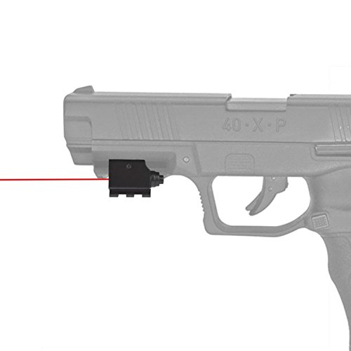 Feyachi Laser Sight/Red Dot Lazer Sight/Pistol Laser Sight/Rifle Laser Sight for Weaver or Picatinny Rail