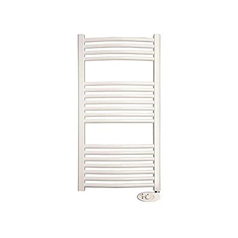 Ducasa radiador toallero eléctrico Curva blanco 50x94cm 0636012: Amazon.es: Hogar