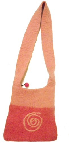 Trade Pink Spiral Spiral Shoulder Shoulder Trade Spiral Bag Pink Trade Felt Fair Fair Pink Bag Felt Fair qwX7AX4