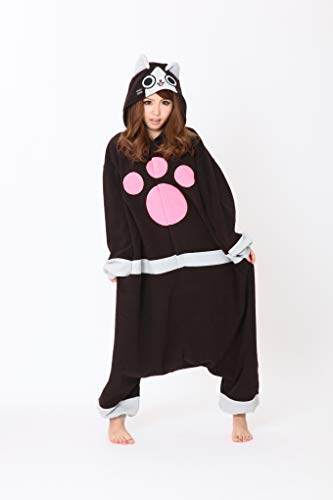 SAZAC Kigurumi - Monster Hunter - Merarou - Onesie Halloween Costume - Adult One Size Fits All -