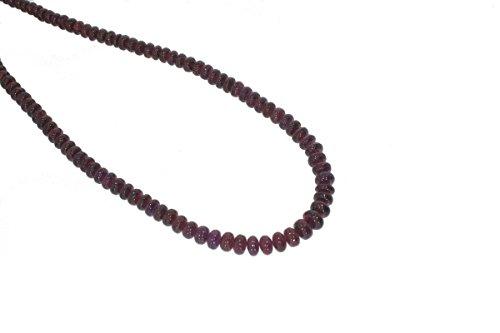 Garnet smooth Rondelle dark red Gemstone Beads 5 to 7mm AA Necklace