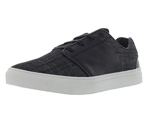 Creative Recreation Men's Nemi Fashion Sneaker Black Linen, 10.5 M US