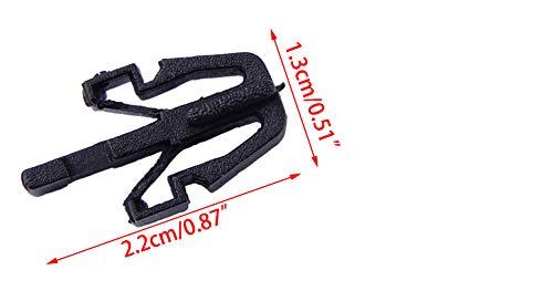 CITALL 10pcs Nylon Grille Mounting Clip Retainer Fastener