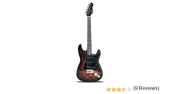 Jaxville ST1-DM - Guitarra eléctrica: Amazon.es: Instrumentos ...