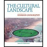 The Cultural Landscape by Rubenstein, James M.. (Prentice Hall,2010) [Hardcover] 10th Edition