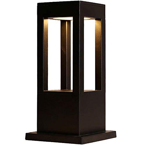 (MUTANG Led Modern Minimalist Outdoor Lawn Lamp Post Lamp Outdoor Die-cast Aluminum IP55 Waterproof Landscape Lamp Garden Lamp Villa Park Community Garden Lamp Street Lamp (Size : Height 40.5cm))
