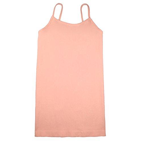 Coobie Seamless Ultra Stretch Thin Strap Cami, - Camisole Peach