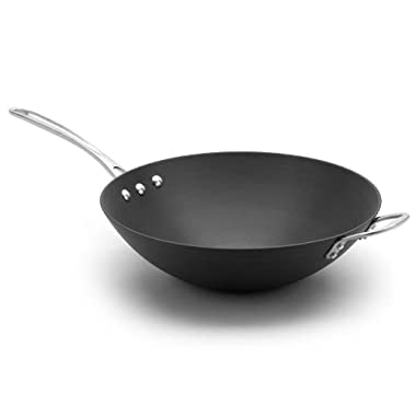 Calphalon 12-in. Commercial Hard-Anodized Stir Fry Pan