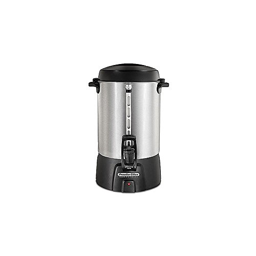 Proctor Silex 45060 60 Cup Brushed Aluminum Coffee Urn from Proctor Silex