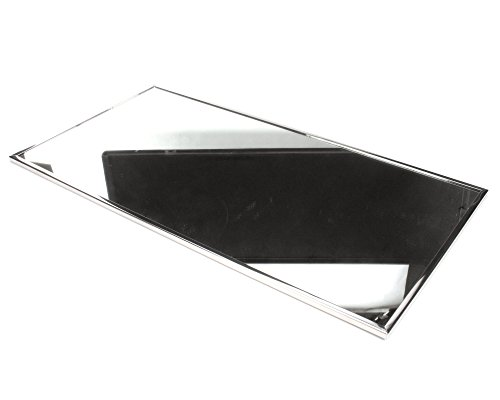 Bobrick B-165-1836 Stainless Steel Framed Mirror, 36'' x 18'' by Bobrick