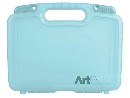 ArtBin 12-Inch Quick View Deep Base Carrying Case, Translucent Clear