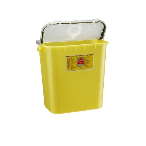 Bemis Healthcare 208 040 Bemis Healthcare Quality Medical Products Needle Disposal Products- 8 Gallon Chemotherapy Container/Gasketed/Dual Purpose Lid - Product Number : #208 040