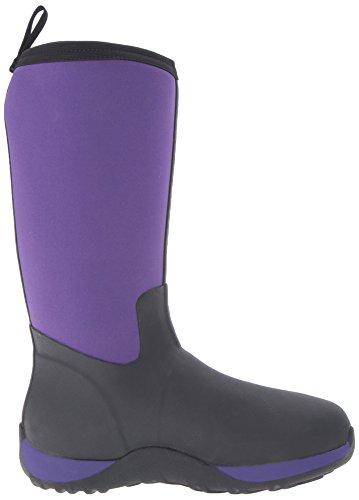Kid's Boot Purple Black Boots Arctic Muck Adventure agqcw