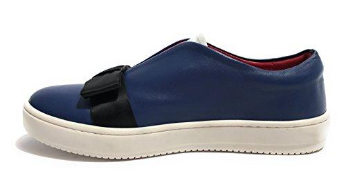 AURORA - Zapatillas de Piel para mujer Azul turquesa