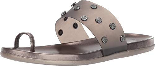 - Kenneth Cole REACTION Women Slim Tricks Jem Toe-Ring Sandal Flat, Grey, 11 M US