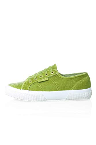 Superga Femme Polyvelvtw Baskets Xcg 2750 Lime Gr n green BgBzfx