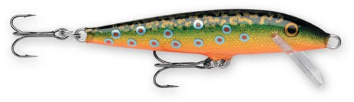Rapala Original Floater 09 Fishing lure, 3.5-Inch, Brook Trout