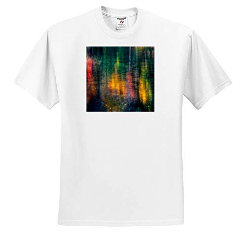 (3dRose Mike Swindle Photography - Landscapes - Fall Colors Reflections - Youth T-Shirt XS(2-4) (ts_317154_11) White)
