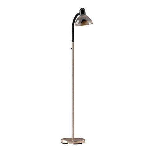Dainolite Lighting DM238-F-AB Gooseneck Floor Lamp, Antique Brass and Gloss Black Finish, 16'' x 10'' x 54'' by Dainolite (Image #1)