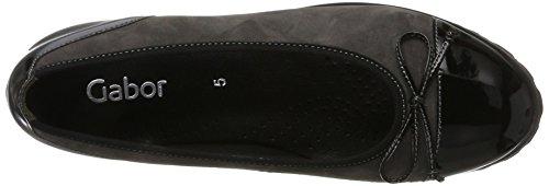 Gabor Shoes Gabor Jollys, Bailarinas Para Mujer Gris (19 Dark-grey/schwarz)