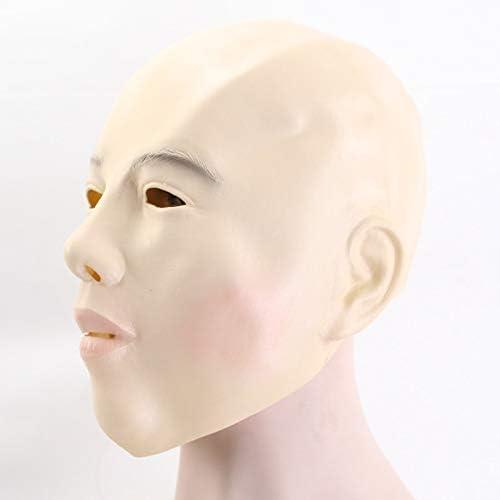 Dodom Cabeza Calva niña máscara de Cara Completa Adultos de látex ...