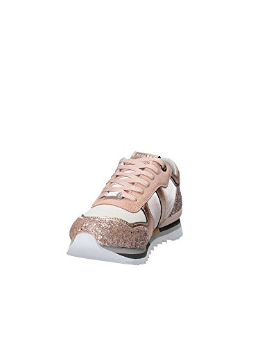 Apepazza Shoes Woman Low Sneakers DLY36/GLITTER Domitille Cipria Pink b5euM6b