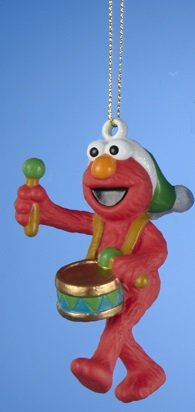 Elmo Sesame Street Christmas Ornament