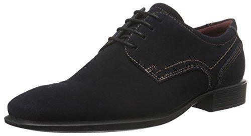 ECCO Cairo, Zapatos de Cordones Derby para Hombre Azul (NAVY5058)