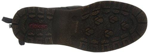 Rieker 94773-00, Womens Boots Black (Schwarz/Black-grey/00)