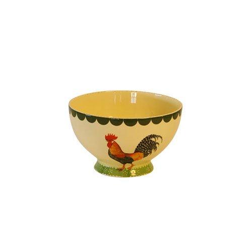 Colore: Panna Fairmont and Main Ltd Cockerel Motivo: Gallo Set di 4 Ciotole in Terracotta