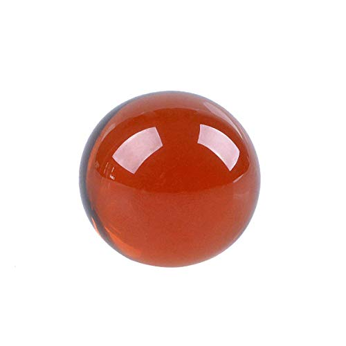 - LONGWIN 1.2 Inch Phtotgraphy Crystal Healing Ball Amber