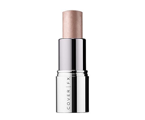 Cover Click (Cover Fx Enhance Click Highlighter Full Size 0.17 oz Unboxed ~ (Soft Rosy Peach Shimmer) Bubbly)