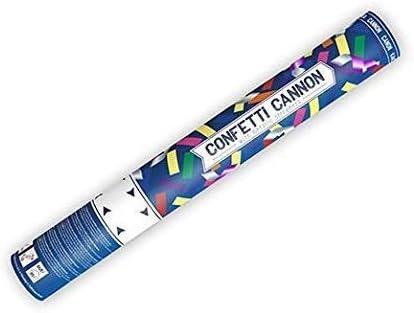 3x Cannone Tubo Sparacoriandoli multicolor e 40 multicolor 40 anni kit anniversario set lancia coriandoli con coriandoli stelle filanti e coriandoli a forma di numero 40 per compleanno