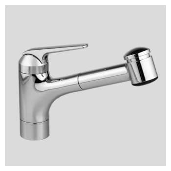 Kwc Domo Kitchen Faucet | Kwc 10 061 033 000 Domo 9 Pull Out Kitchen Faucet Top Lever