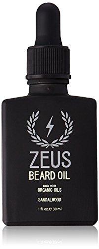 ZEUS Beard Organic Sandalwood Ounce