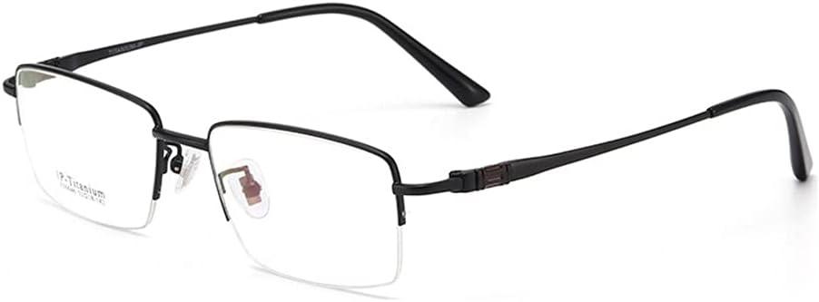 HQMGLASSES Gafas de Lectura para Hombres Lector de múltiples focos Progresivo de Titanio Puro Ultraligero, Gafas de Sol fotocrómicas al Aire Libre/Anti-Ultravioleta dioptrías +1.0 a +3.0,Negro,+1.75
