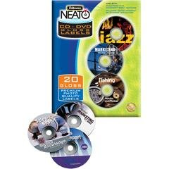 - FEL99943 - Fellowes Neato CD/DVD Laser/Inkjet Labels