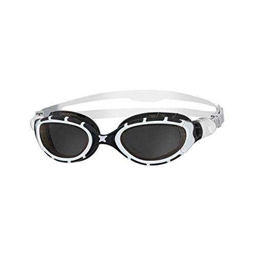 Oculos De Natacao Zoggs Predator Flex 2.0 Branco/fume