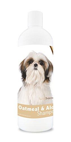 Healthy Breeds Dog Oatmeal Shampoo with Aloe for Shih Tzu -