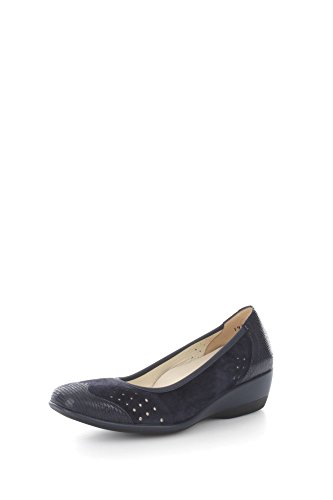 Ballet amp; R3464 Blue Women Loafers Pumps Melluso 4qSR7ng7