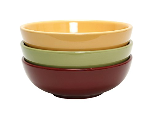 - Tuxton DYB-480G Vitrified China Menudo/Salad Bowl, 48 oz, 8-3/8